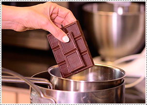 Como Hacer Chocolate Al Baño Maria | Cherry Chile