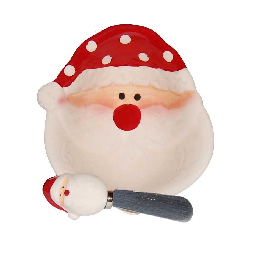 Plato Santa con Cuchillo D