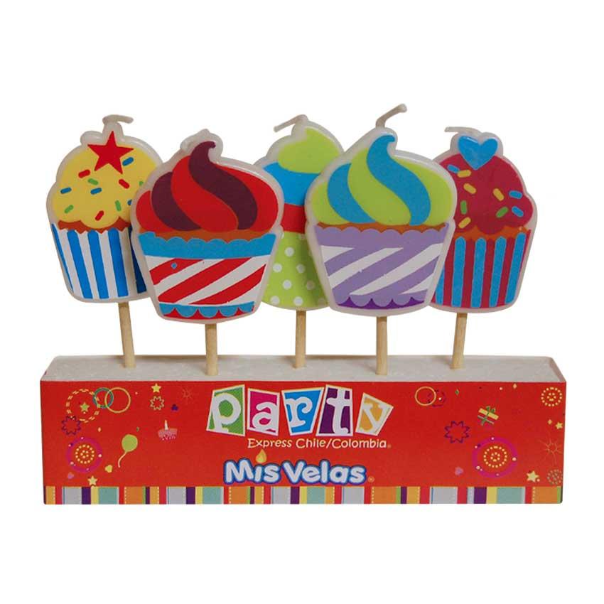 Vela Cupcakes