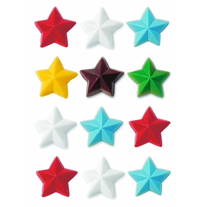 Molde diseño Estrellas