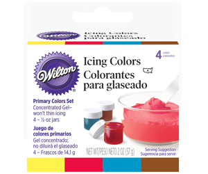 4 Colorantes Glaseado 57 g