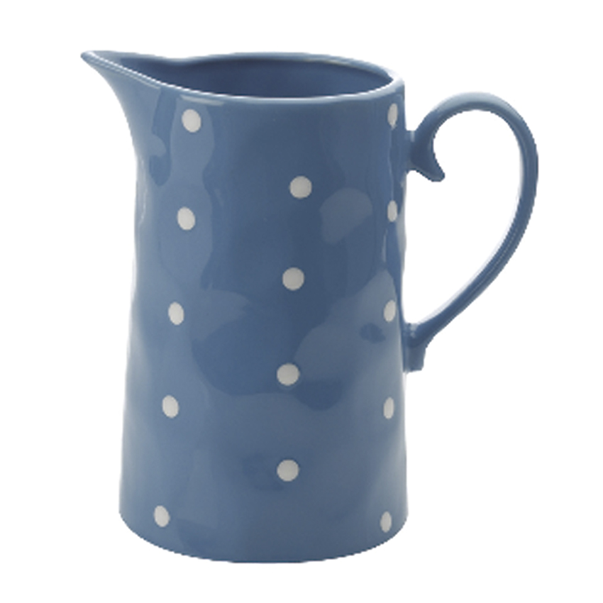 Jarro Porcelana Azul 1 Lt