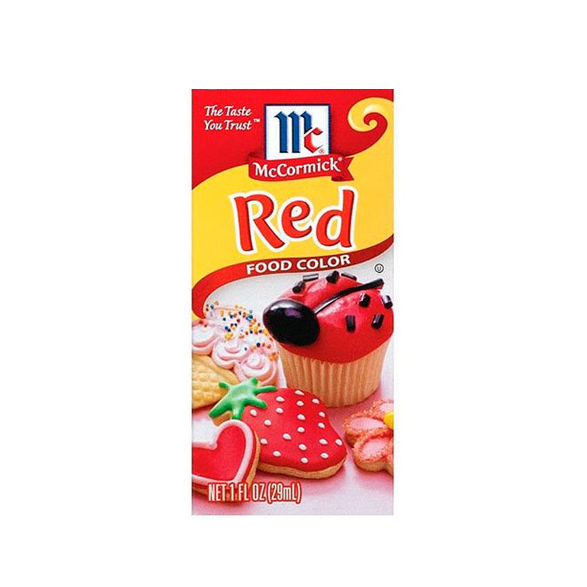Colorante Rojo McCormick