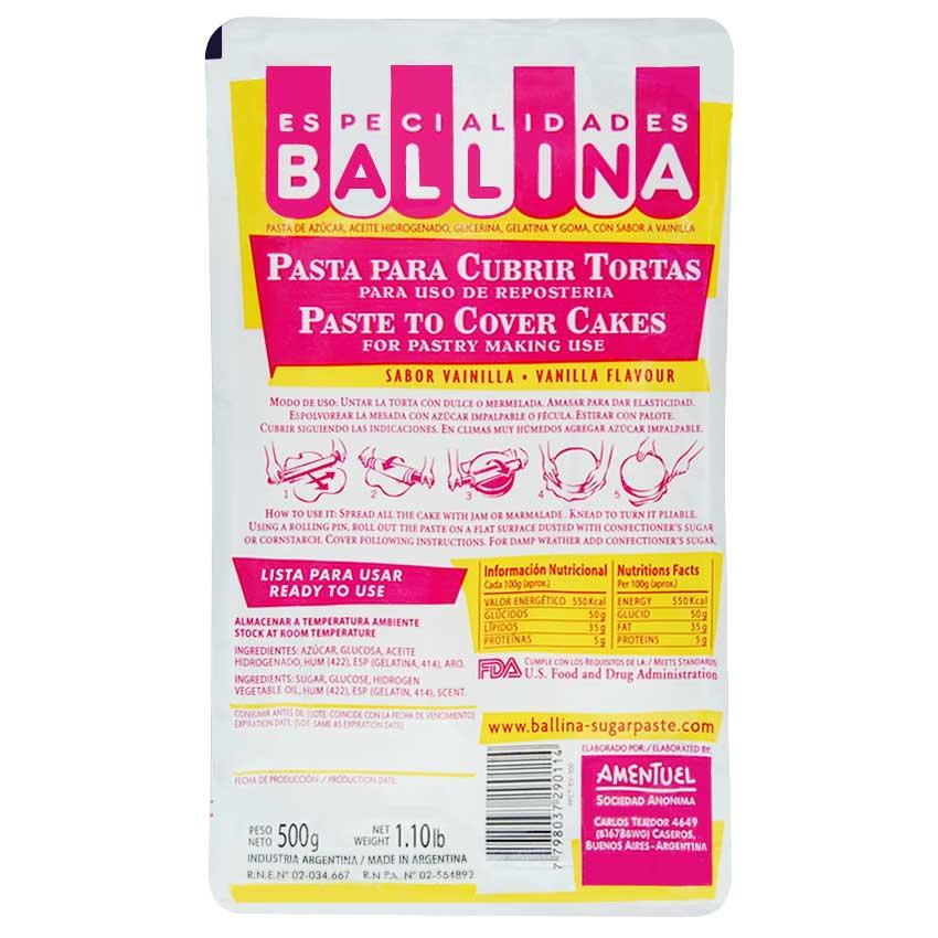 Pasta para cubrir Tortas 5