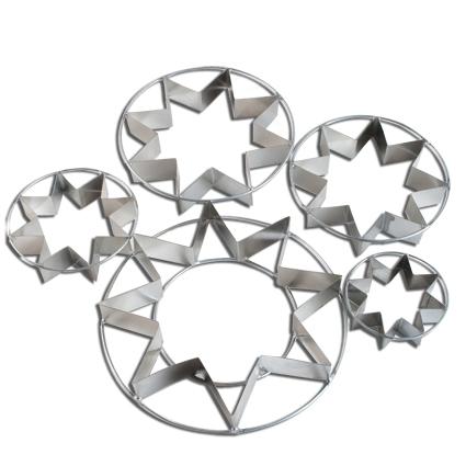 Set Cortadores Estrellas N