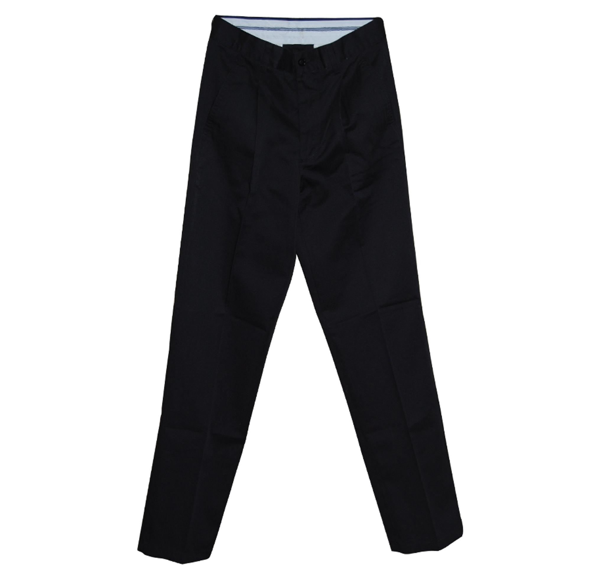 Pantalón Hombre Negro Tal