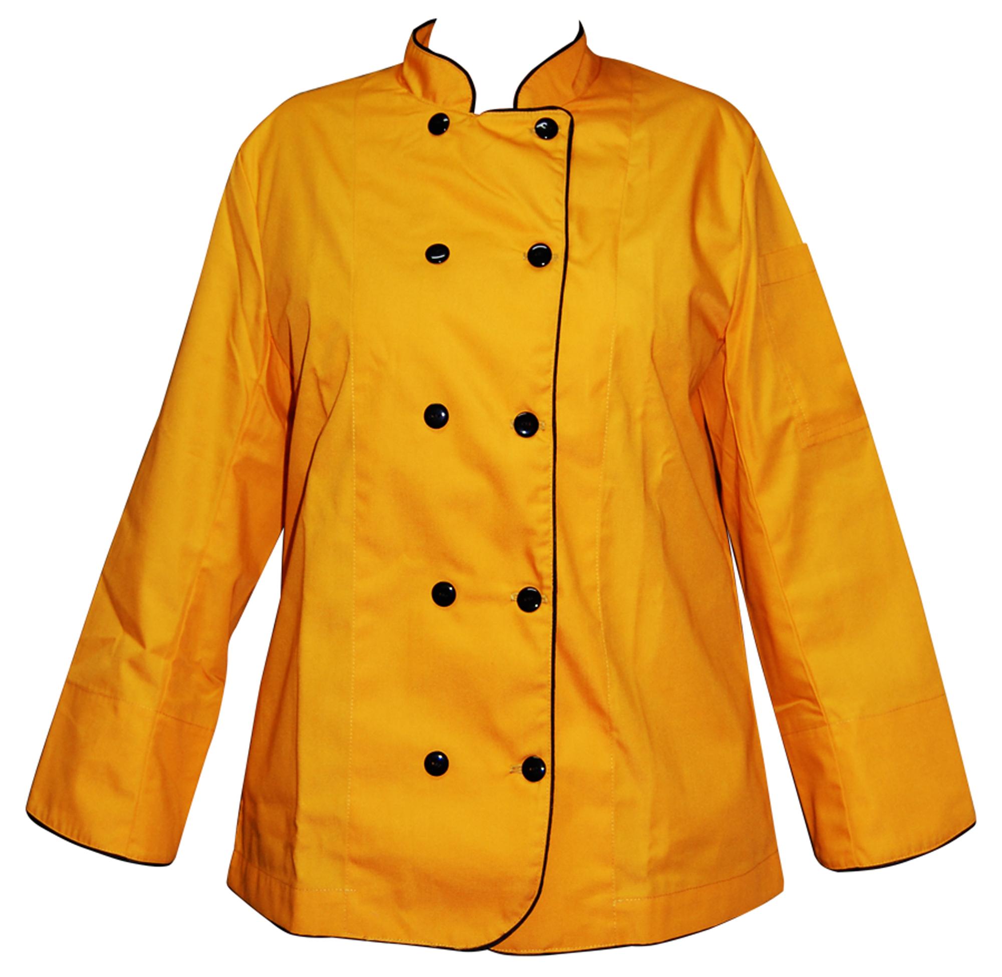 Chaqueta Chef Amarilla Tal