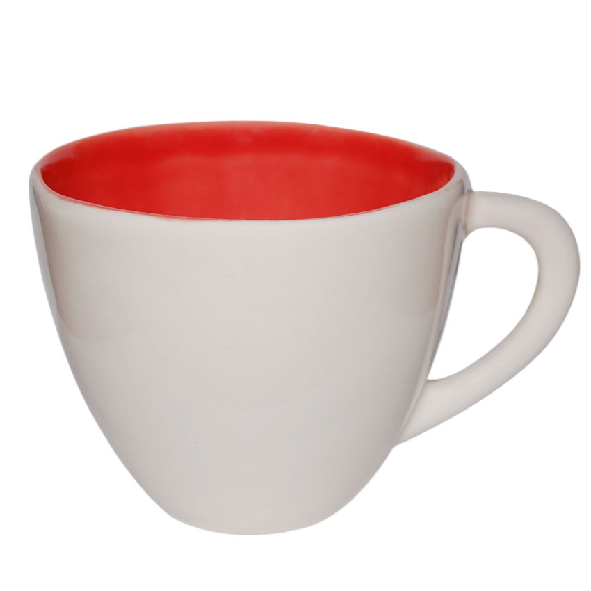 Taza Blanca y Roja