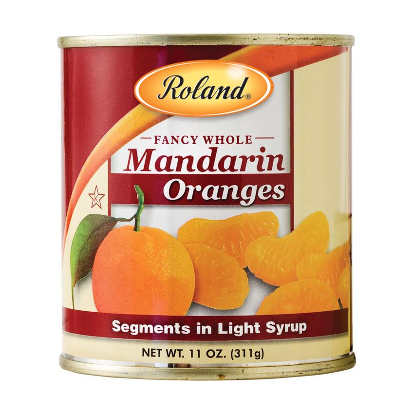 Segmentos de Mandarina en