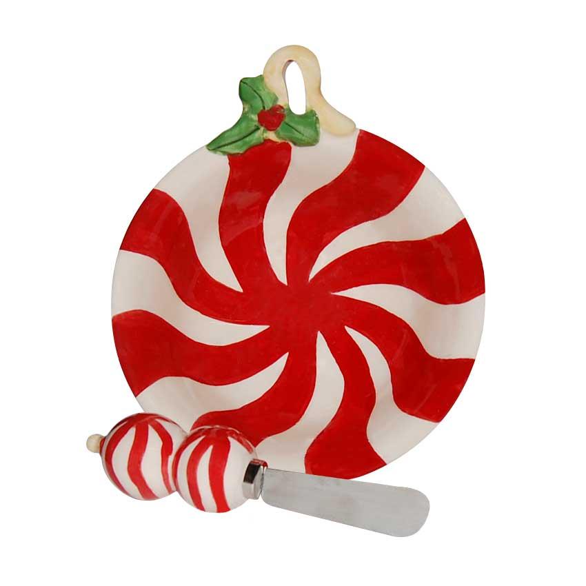 Plato Candy con Cuchillo D