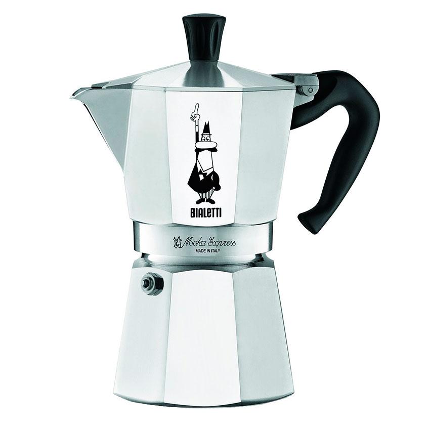 Cafetera Moka Express 6 Ta