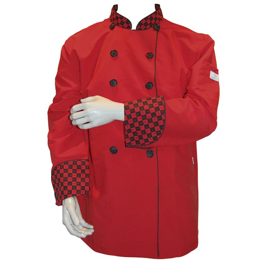 Chaqueta Roja con Diseño