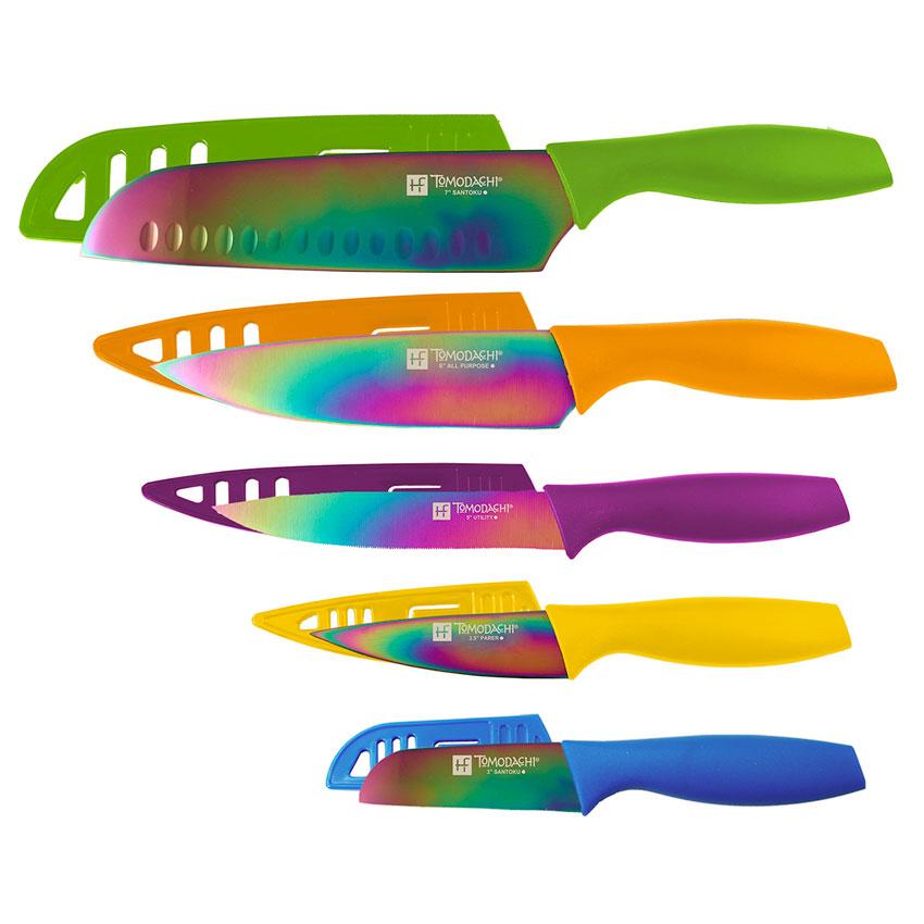 Set cuchillos titanium pl