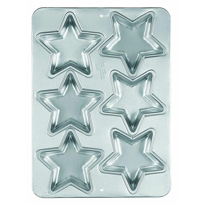 Molde Pan Mini Estrella