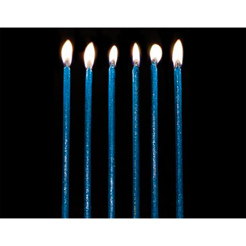 Veloncitos Glitter Azul 14