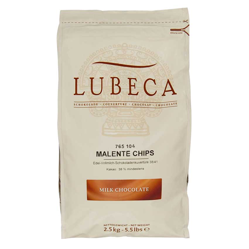 Chocolate de leche Lubeca