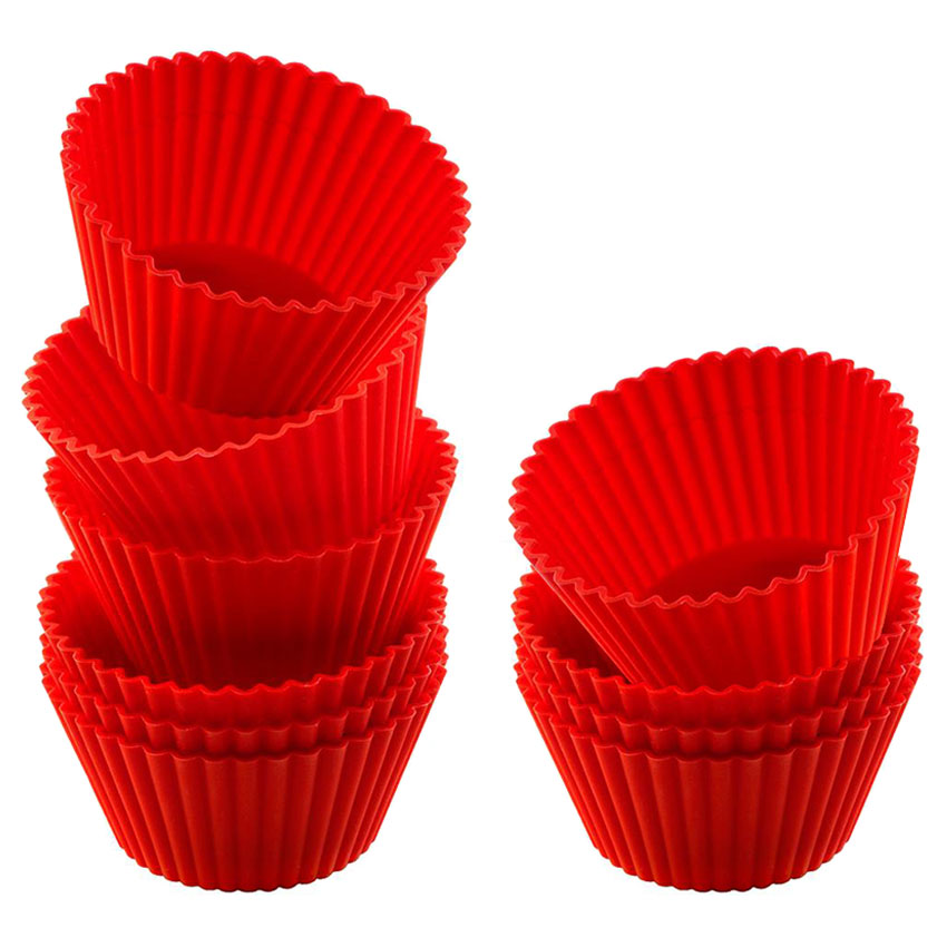 Set 10 moldes para Cupcake