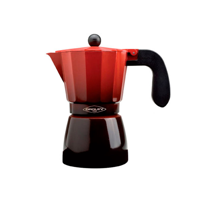 Cafetera Oroley Roja 3 a 6