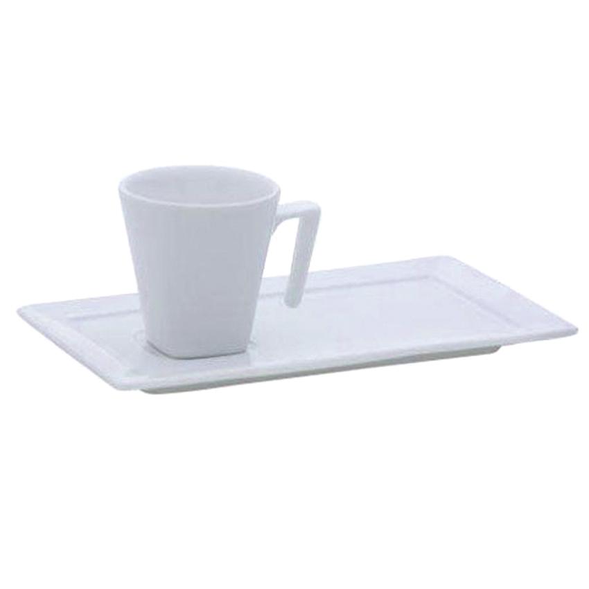 Taza café con plato 65 ml