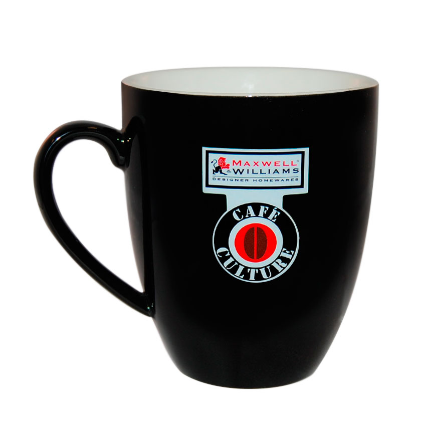 Taza 400 ml Negra