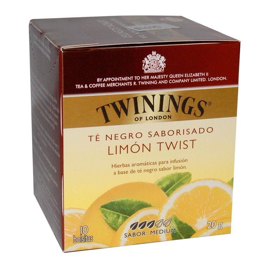 Té Negro sabor Limón Twi
