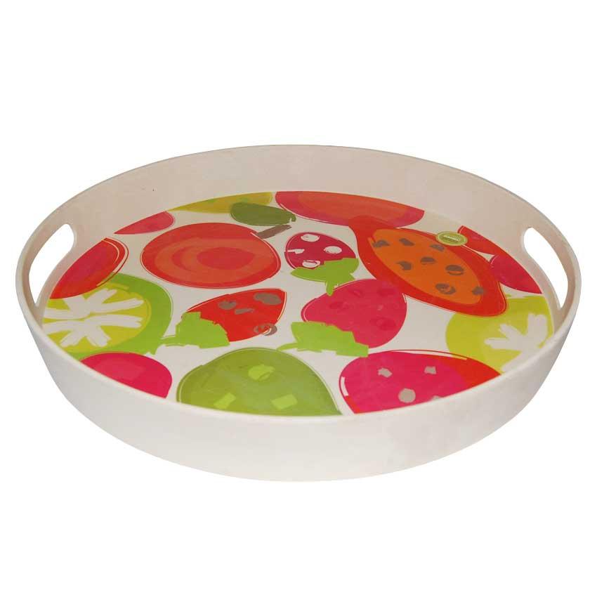 Bandeja Circular frutas