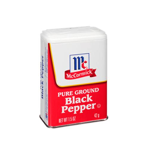 Pimienta Molida Negra 42 g