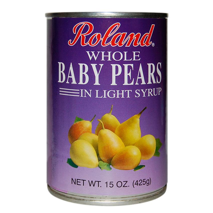 Peras bebé en Almíbar li