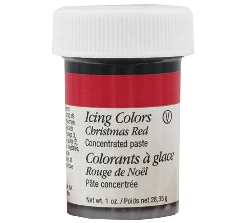 Colorante Glaseado 28,3 g. Rojo Navidad| Cherry Chile