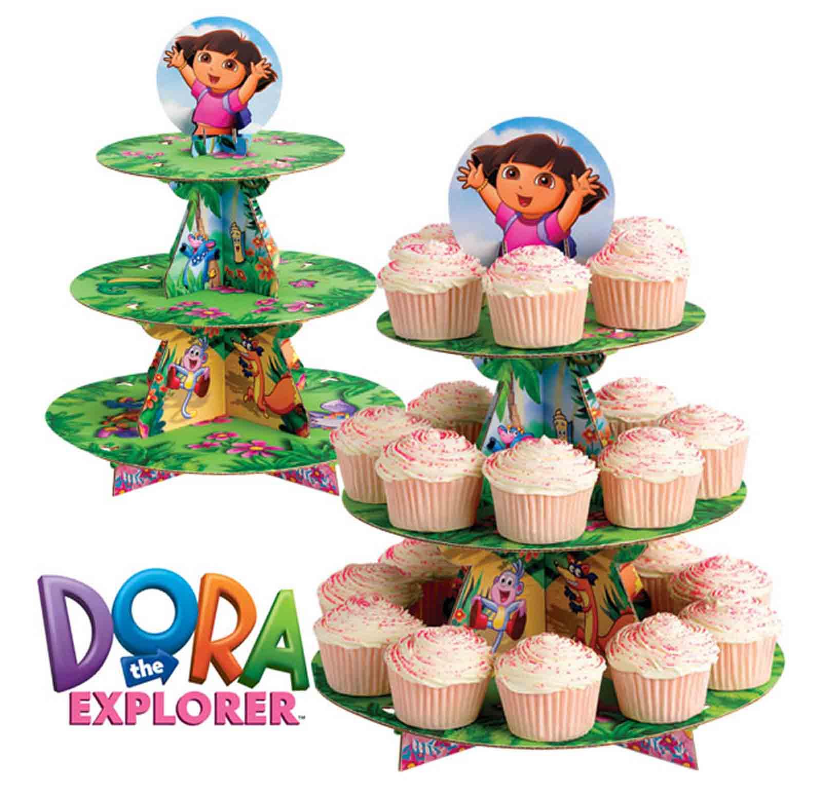 Soporte para Cupcakes Dora