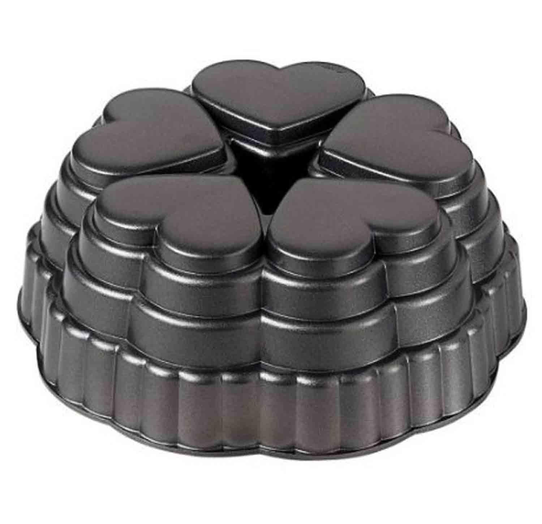 Molde Corazon 5 Cavidades