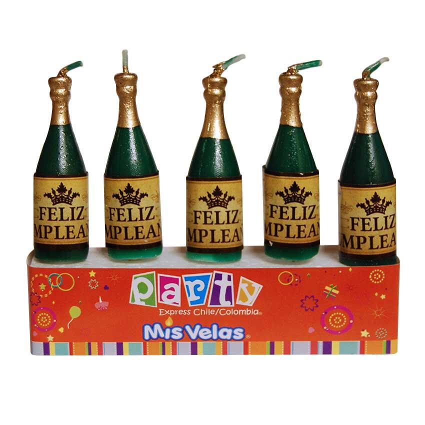 Vela Botella