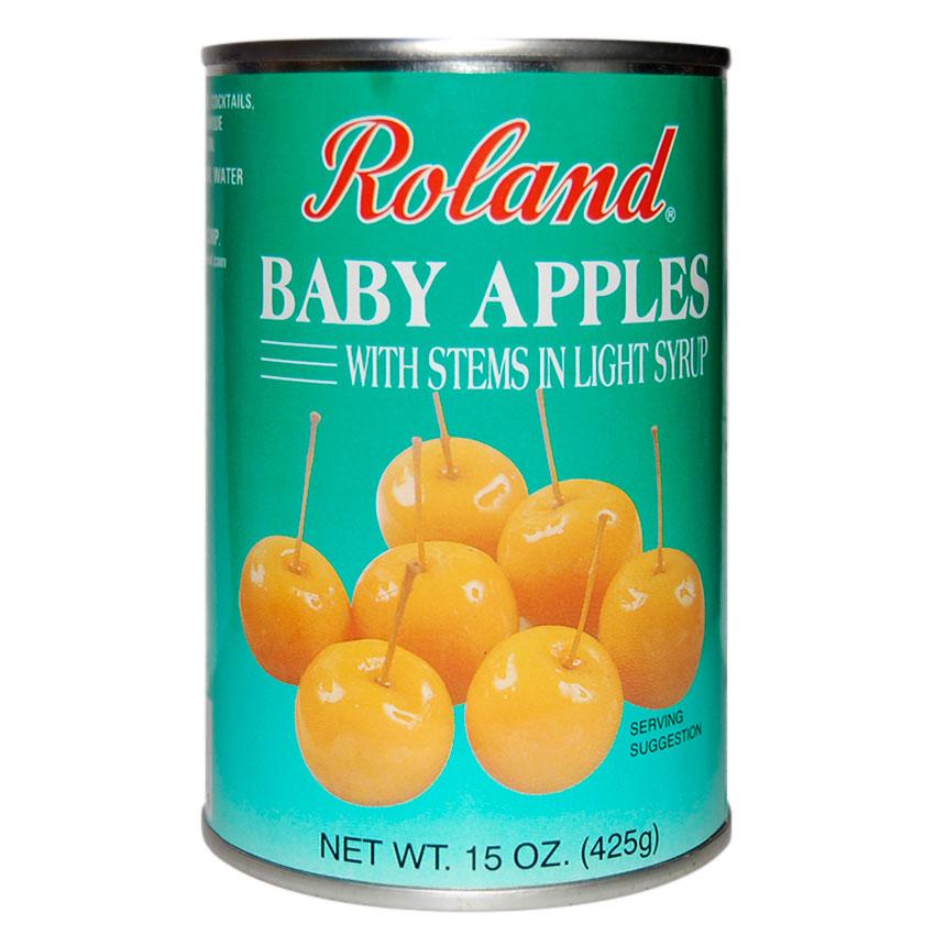Manzanas bebé en Almíbar