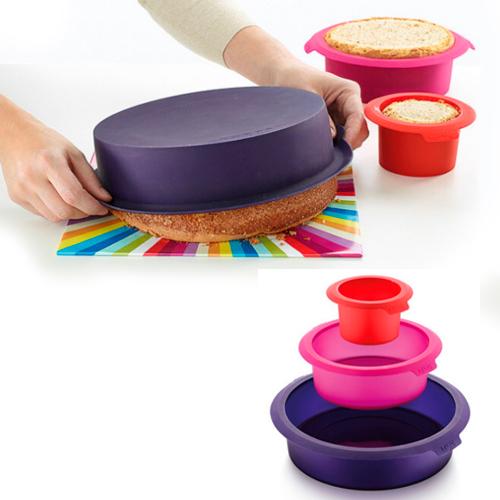 Kit 3 Moldes para Torta L�