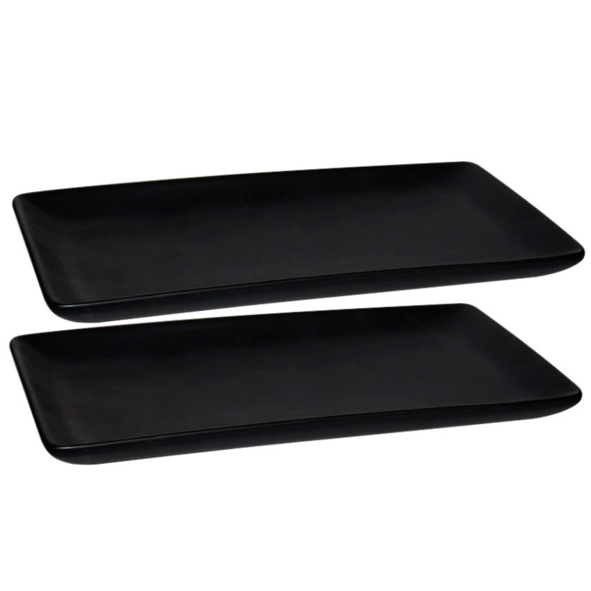 2 Platos rectangulares col
