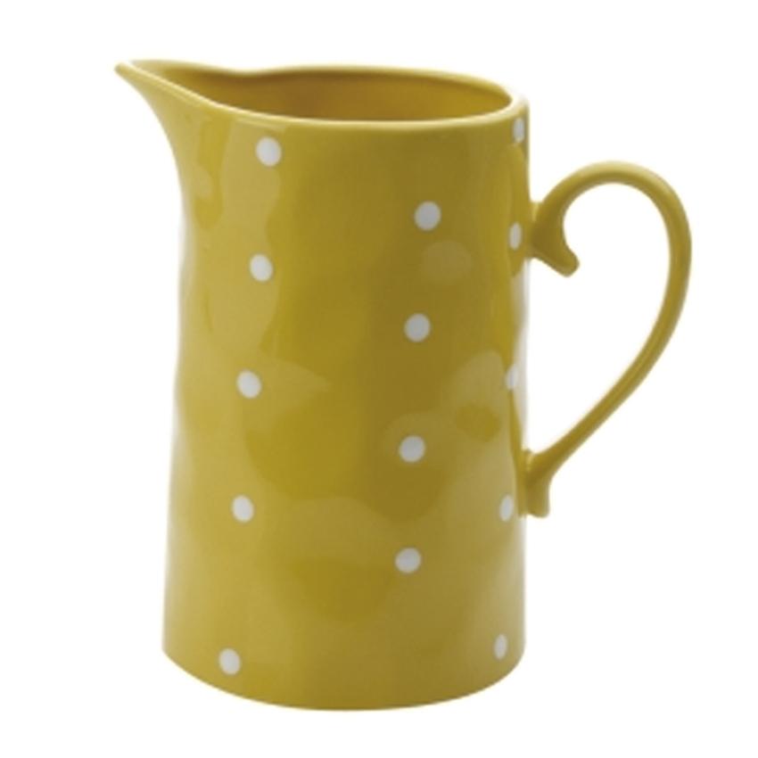 Jarro Porcelana Amarilla 1