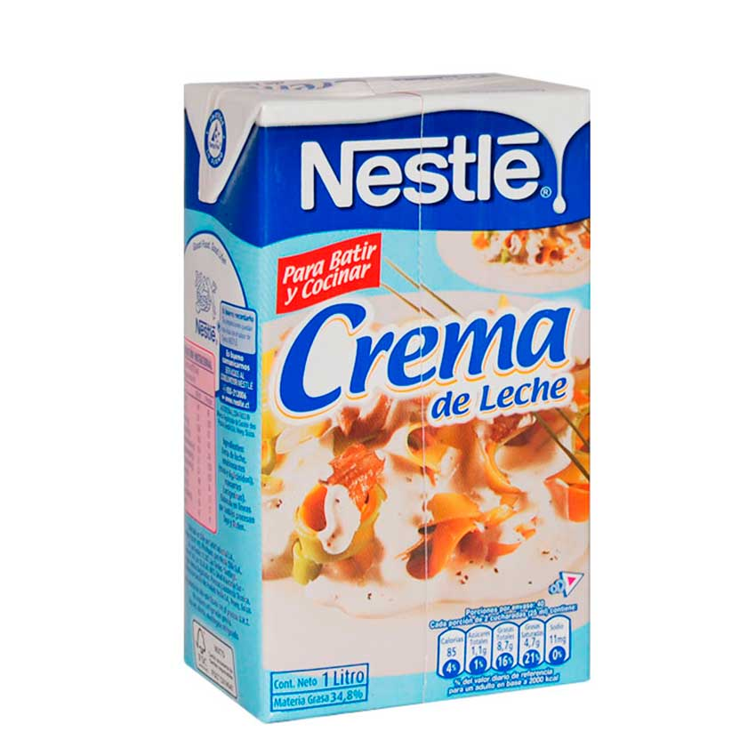 Crema de Leche Nestle 1 Li