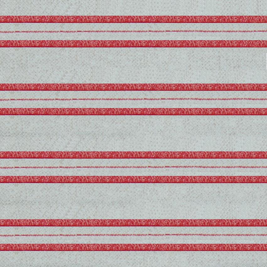 Individual Patrón Rojo 6