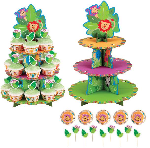 Set Soporte Cupcakes Selva