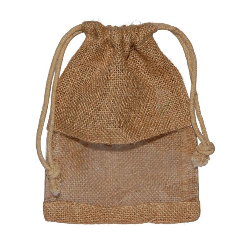 Bolsa saco con plástico M