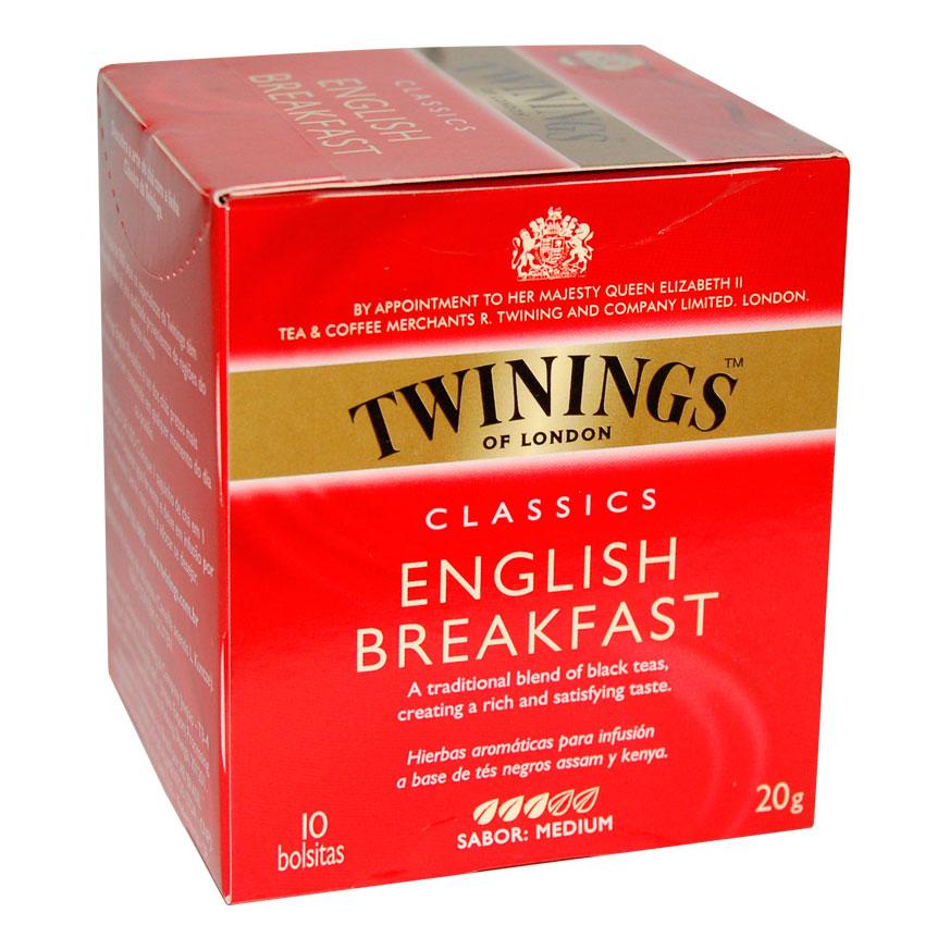 Clásico desayuno Inglés