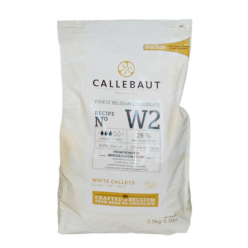 Callebaut Blanco 28 % 2,5