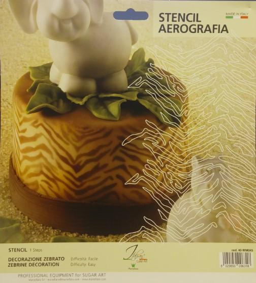 Plantilla Aerografia Marte