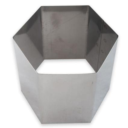 Cortador Canapé Hexagonal