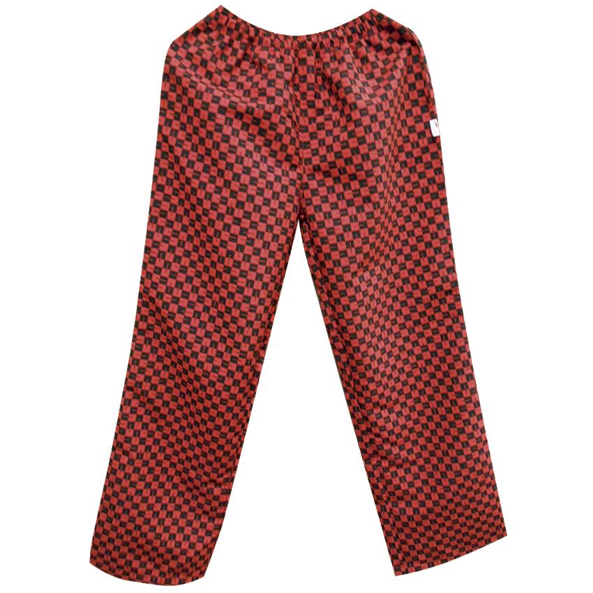 Pantalón Unisex Rojo con