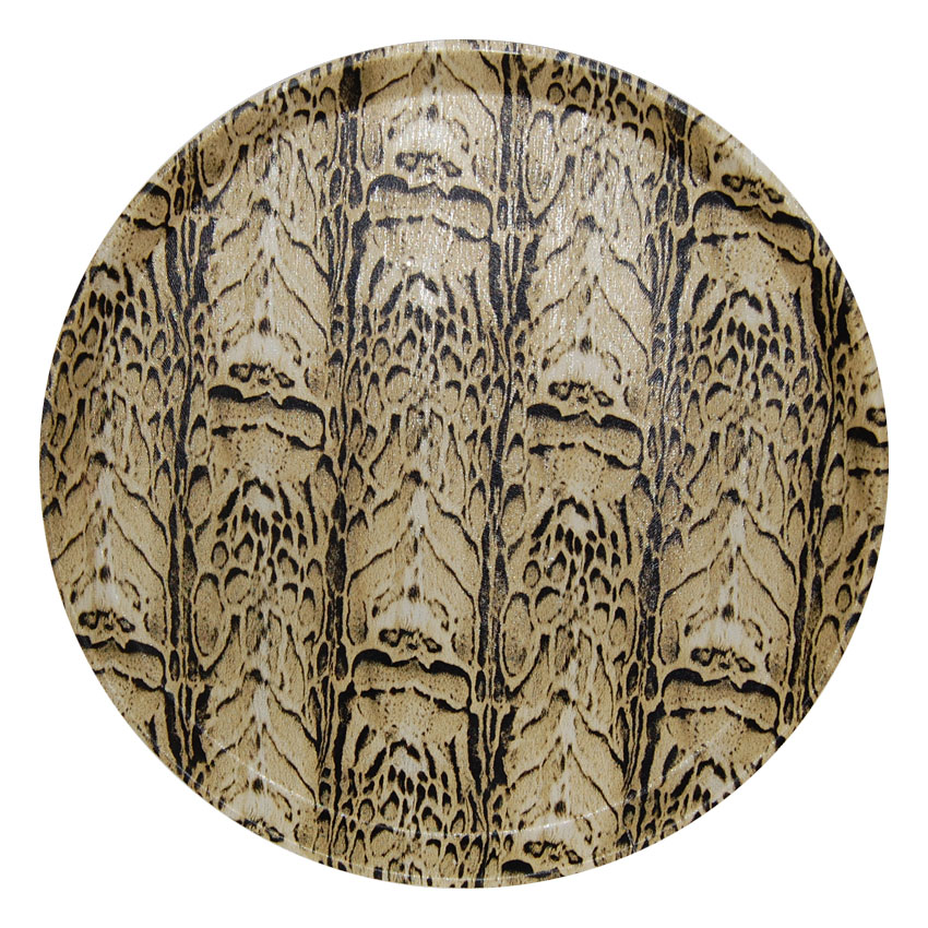Bandeja circular Textura