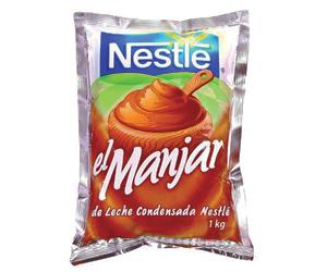 Manjar marca Nestle 1 Kg.