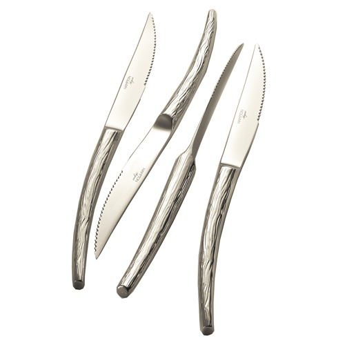 Set 4 Cuchillos de Acero I