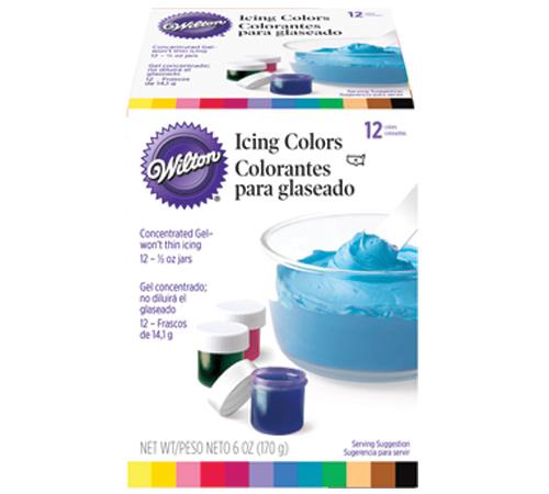 12 Colorantes Glaseado 170