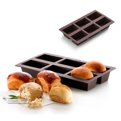Molde Mini Bread Panecillo